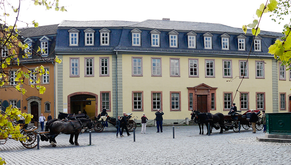 Nationalhaus Goethes Wohnhaus Weimar